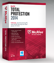 McAfee Total protection save 50%